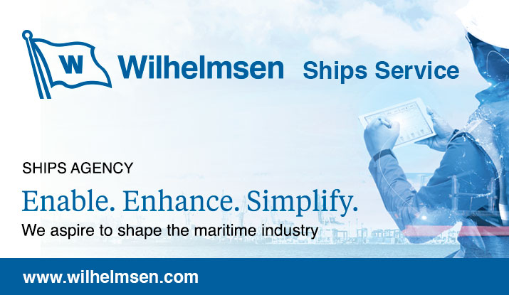 Wilhelmsen Ship Service Advertisement