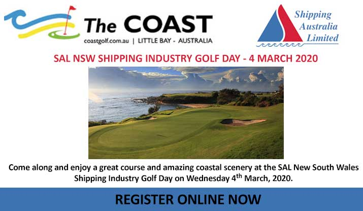 Shipping Australia NSW Golf Day March 4