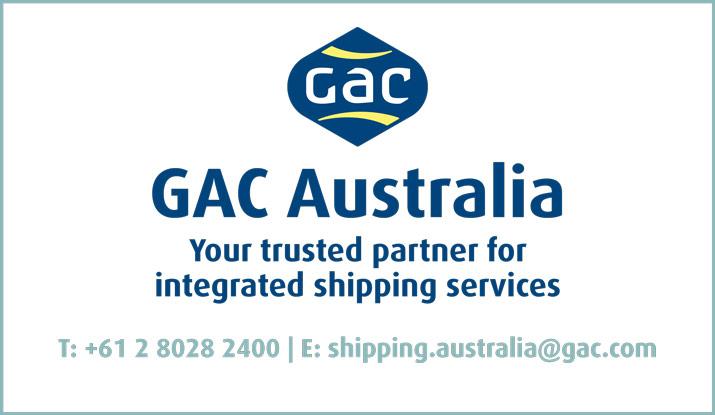 Shipping Australia website sponsor GAC Australia